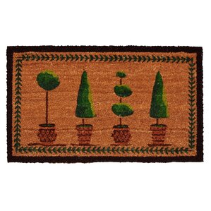 Ashbury Topiary Doormat