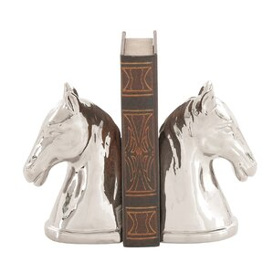 Horse Head Bookends (Set of 2)
