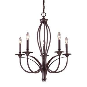 Park Avenue 5-Light Candle-Style Chandelier