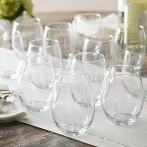 Bailey Stemless Wine Glass (Set of 12)