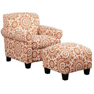 Newton Arm Chair and Ottoman