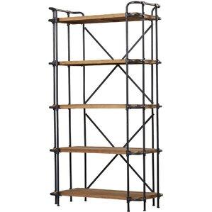 """Idris 66.75"""" Bookcase"""
