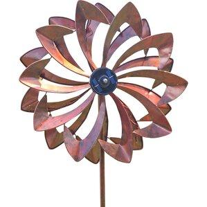 Solar Flower Spinner