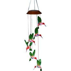 Venus Hummingbirds Solar Wind Chime