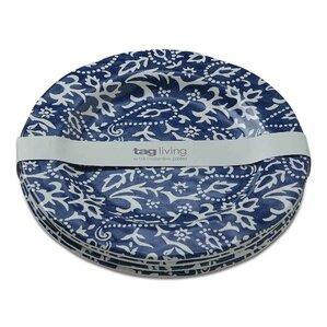 """Suzette 10"""" Melamine Dinner Plate (Set of 4)"""