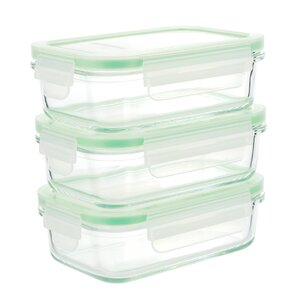 3-Piece Food Storage Container  (Set of 3)