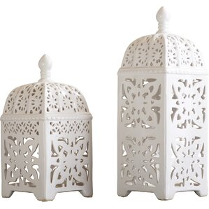 2-Piece Maya Candle Lantern Set