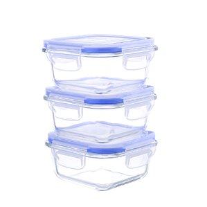 6-Piece 10 Oz. Food Storage Container (Set of 3)