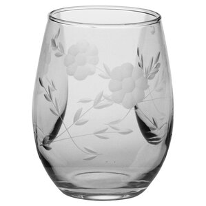 Flora Stemless Wine Glass (Set of 4)