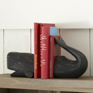 Whale Bookends (Set of 2)