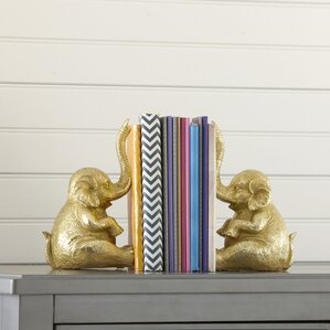 Elephant Bookends (Set of 2)