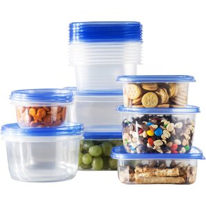 34-Piece Food Storage Set