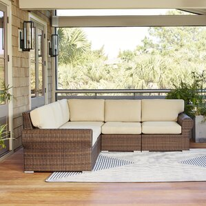 Holland Wicker Sectional