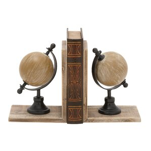 Copley Globe Bookends (Set of 2)
