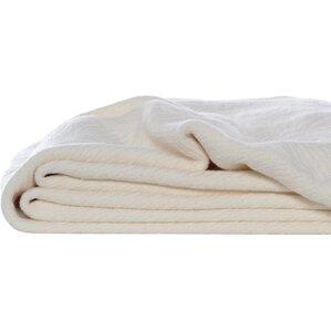 Eddie Bauer Herringbone Cotton Throw Blanket