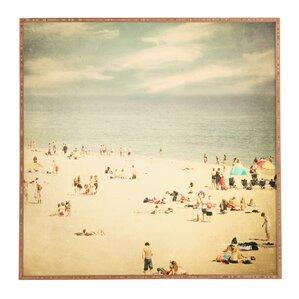 Beach Day Framed Print