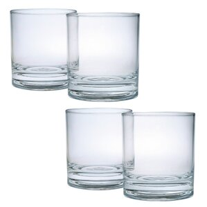 Donneville Double Old Fashioned Glass (Set of 4)