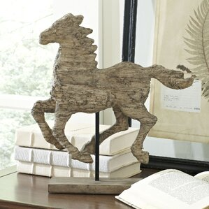 Galloping Horse Statuette