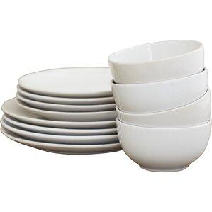 12-Piece Mia Dinnerware Set