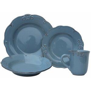 Wilkerson 32 Piece Stoneware Dinnerware Set
