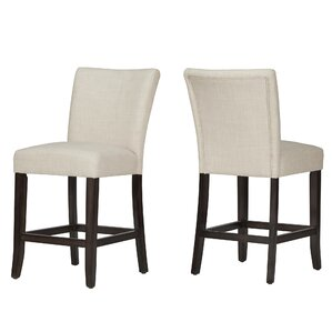 "Laurie 24"" Bar Stool (Set of 2)"