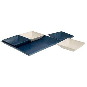 Miranda 5-Piece Serving and Snack Tray Set