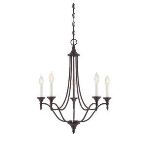 Lovington 5-Light Candle-Style Chandelier