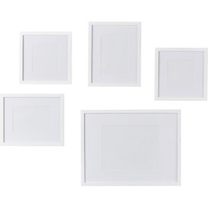 Barbara 5 Piece Picture Frame Set