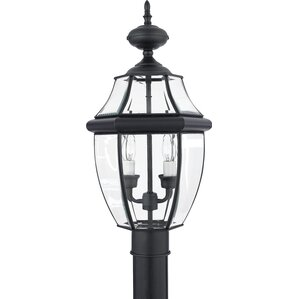Sylvester 2-Light Outdoor Post Light