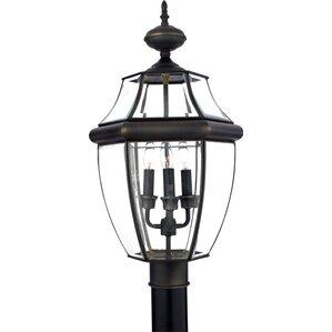 Sylvester 3-Light Outdoor Post Light