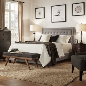 Isla Upholstered Panel Bed