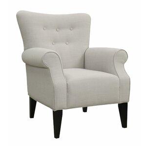 Lyssandra Tufted Arm Chair