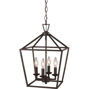 Emme 4-Light Foyer Pendant