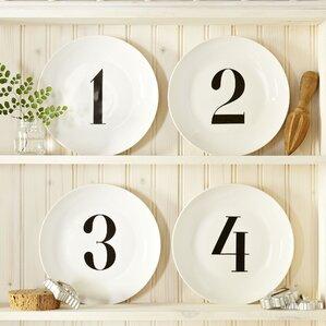 Joseph Numbered Salad Plates