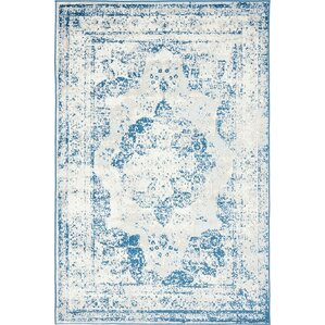 Conlin Blue Area Rug