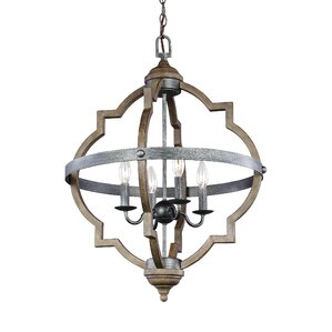 Drew 4-Light Hall Pendant