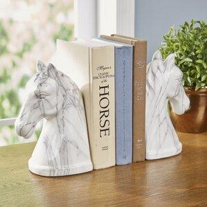 Chapman Equestrian Book Ends (Set of 2)