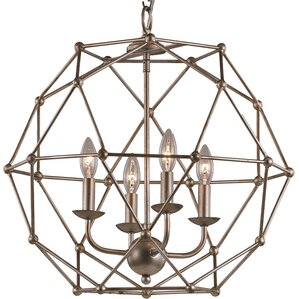 Levingston 4-Light Globe Pendant