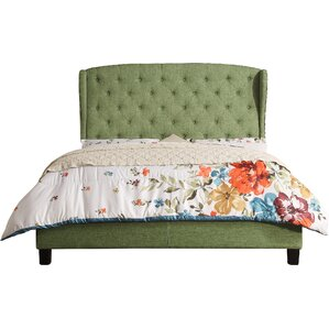 Farnum Upholstered Panel Bed