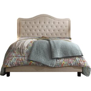 Padrick Upholstered Panel Bed