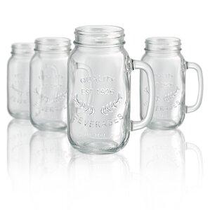 Mason Jar Mug (Set of 4)