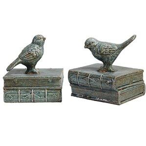 Bird Bookends (Set of 2)