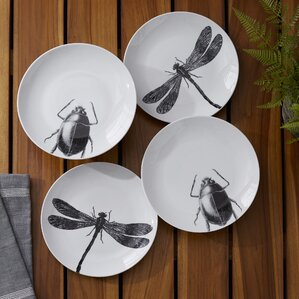 Carroll Insect Plate (Set of 4)