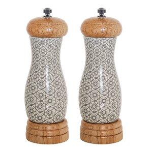 Nathalie 2-Piece Ceramic Salt & Pepper Set