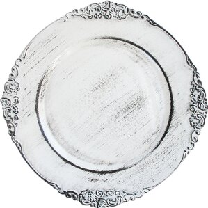 """13"""" Melamine Daines Charger Plate"""