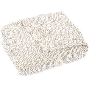 Beatrice Egyptian-Quality Cotton Blanket