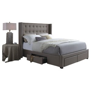 Savoy Upholstered Storage Platform Bed
