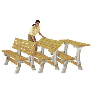 Todd FlipTop Garden Bench Table Kit
