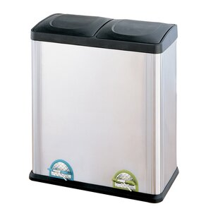 Ripley Gallon Step-On Multi Compartment Recycling Bin
