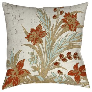 Donna Tropical Garden Pillow